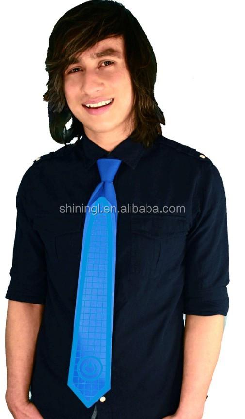 high brightness colorful ledel panel tie light up christmas tie - Light Up Christmas Tie