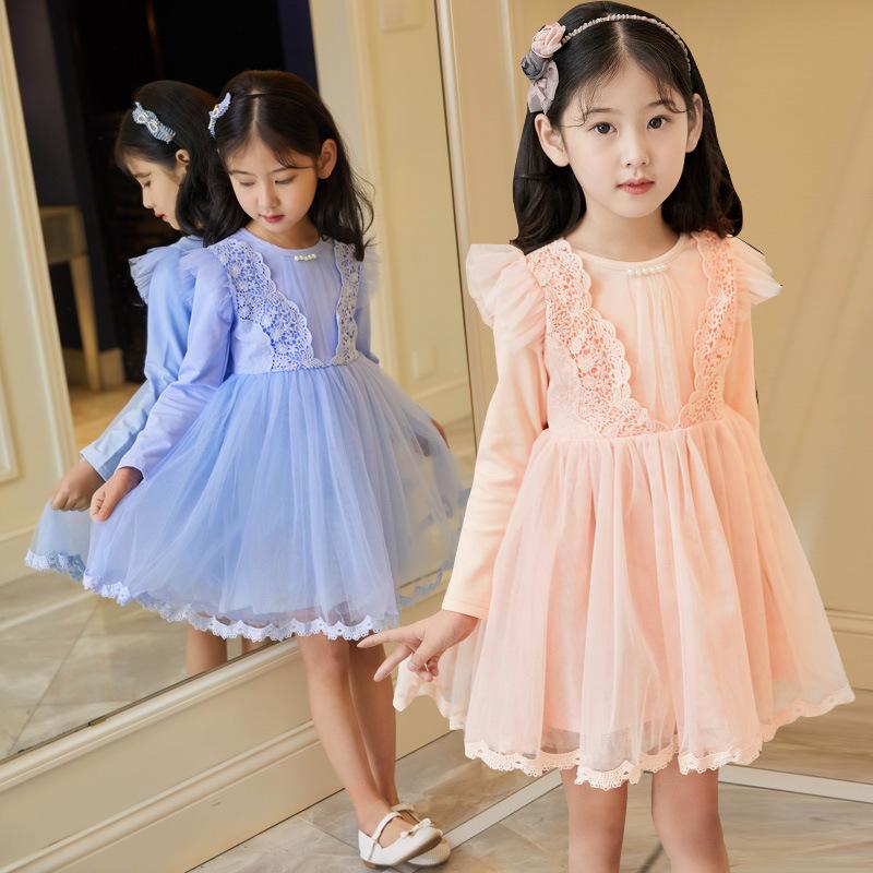 फैशन गुणवत्ता वाले बच्चों लड़कियों औपचारिक राजकुमारी सर्दियों थोड़ा एन्जिल कपड़े निजी लेबल थोक बच्चों कपड़े की दुकान