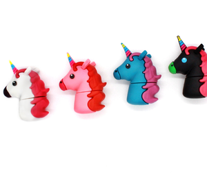 Unicorn USB Flash Drive Trojan horse 8GB pendrive cartoon 16gb pen drive 32gb usb stick 64gb