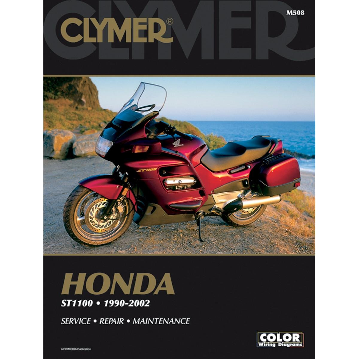 Get Quotations · Clymer Honda ST100/Pan European (1990-2002)