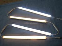 LED Under Cabinet Lighting Kit: 4pcs Extendable Under Counter LED Light Bars,UL-listed Power Adapter for Gun Box, Locker, Closet