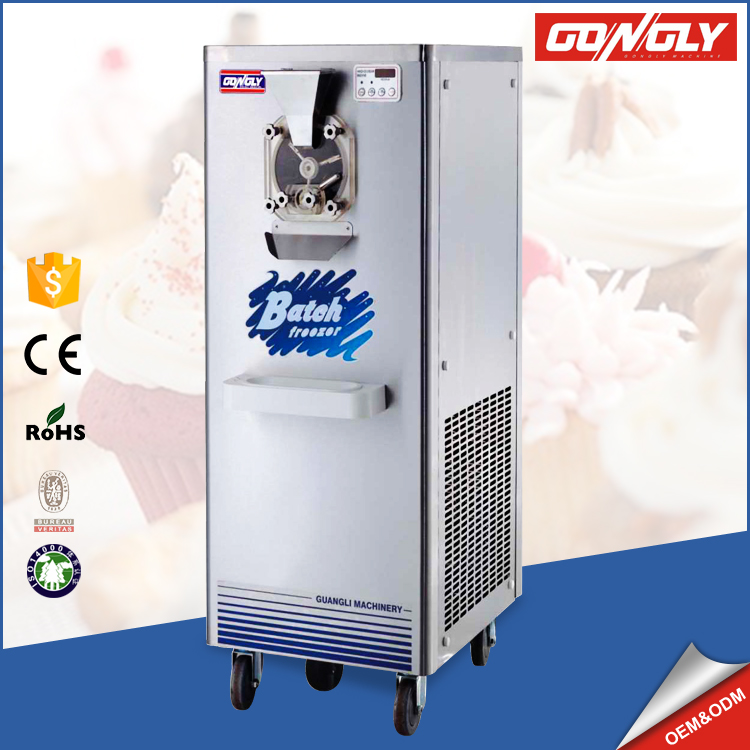Hard ice cream machine / Batch Freezer