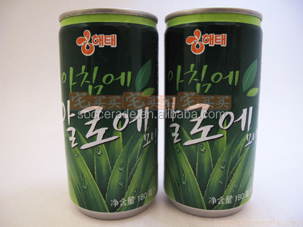180ML Aloe Vera Juice Drink in Can