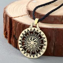 Cxwind Египетский Анкх крест кулон ожерелье для женщин, девочек, мужчин подарок античный символ викингов ожерелья ювелирные изделия(Китай)