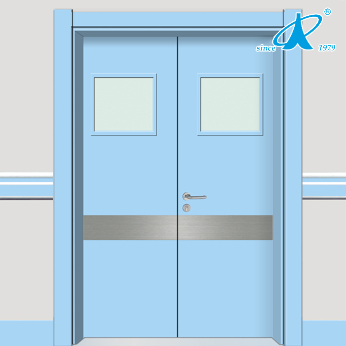 Hospital door modern flush hospital door for Room door frame