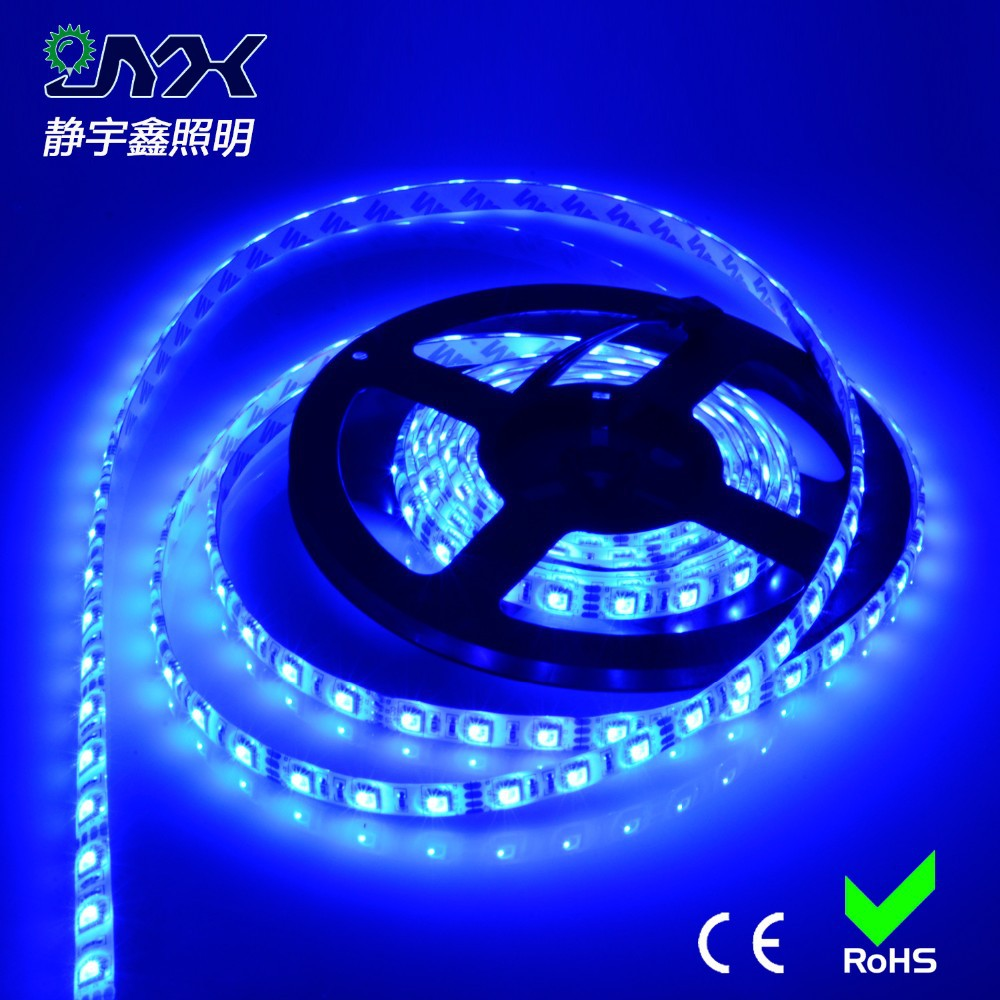 SMD 5050 LED Strip lamp 5M 60led/m DC 12V 24V Flexible Ribbon Tape RGB White Warm White Red Green Blue Yellow Light