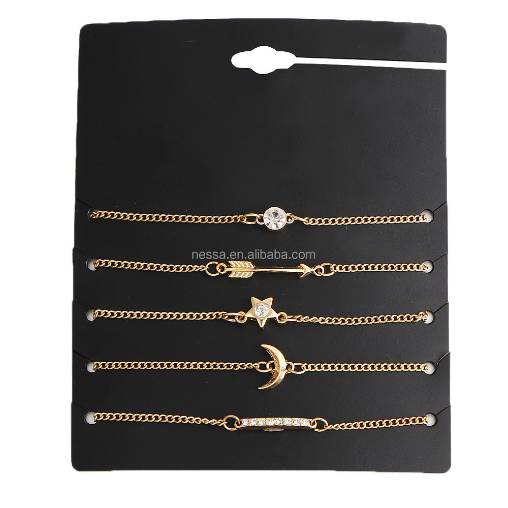 Fashion Gold Arrow Bracelet wholesale HZS-0155