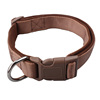 Brown heavy duty padded dog collars under 1 dollar
