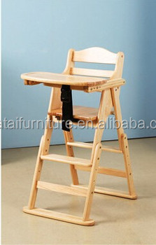 Kids Dining Chair With Armrest Baby High Folding