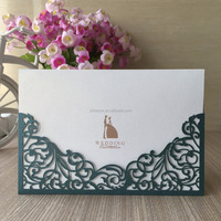 Cheap professional envelope luxury wedding invitation card Colorful Paper Packed Happy Birthday Party Invitation Greeting Card