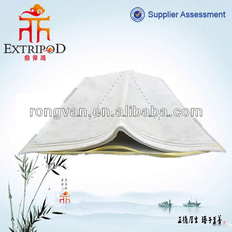 Disposable three dimensional nonwoven fabric mask