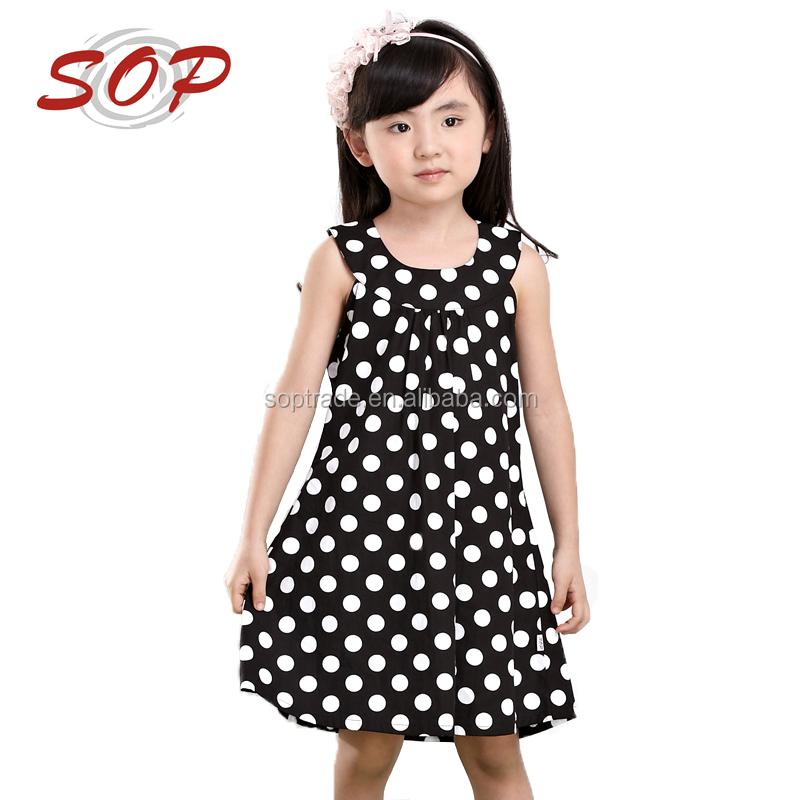 Diseño De Moda Pequeñas Niñas Vestido Niñas Polka Dot Vestidos Para Niñas De 10 Años Buy Vestidos Para Niñas De 10 Añosniñas Polka Dot Vestidos