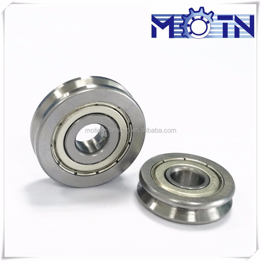 cable guide roller bearing for wire straightener SS23(8mmx23mmx7mm )