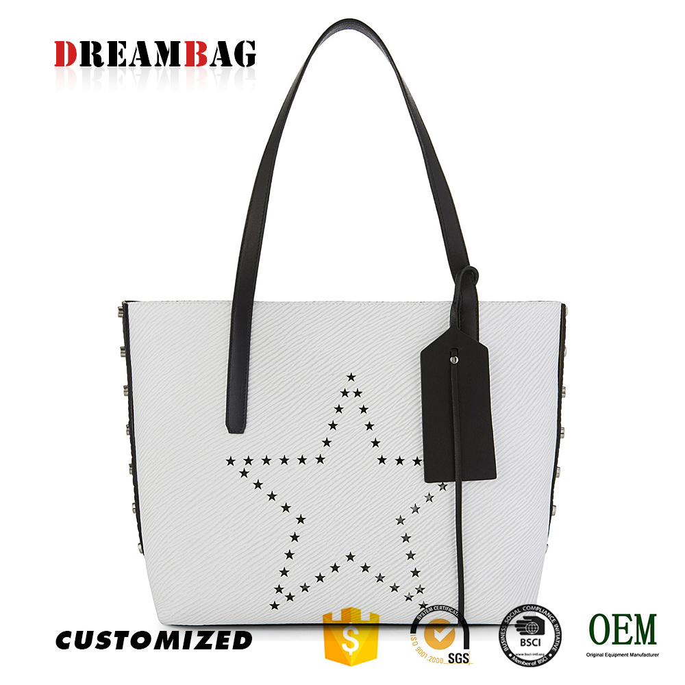 Two-panel tote bag oem high quality bags for wholesale in los angeles