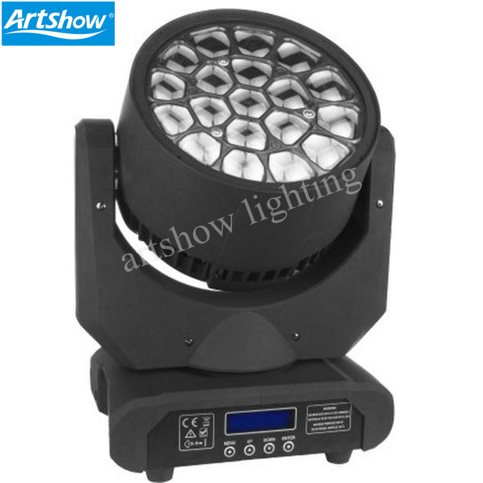 Amazing HAWKEYE Led Moving Head Beam 19x12W RGBW Big Bee Eye Stage Beam Effect DMX 512 Control 19*12w amazing Hawkeye led move