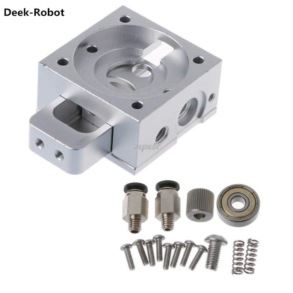 Hariier Deek-Robot Reprap Bulldog All-metal Extruder For 1.75/3mm Compatible J-head MK8 Extruder Z09 Drop ship