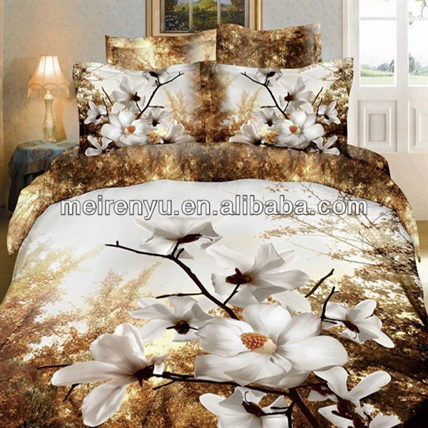King Size Hot 3d Bed Sheet 3d Flower Bedding Set   Buy 3d Printed Bed Sheets ,Cheap 3d Bed Sheets,King Size 3d Bed Sheet Product On Alibaba.com