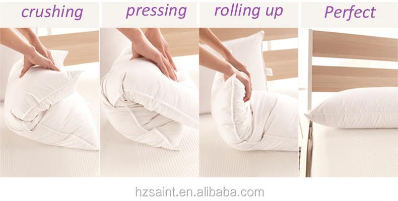 Hotel Collection Luxury White Down Feather Pillow Premium