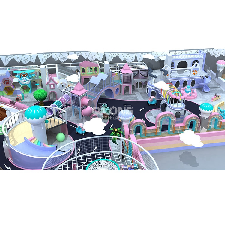 Adventure Indoor Play Ground Kids Playground Indoor Commercial Children, Indoor Playground Park With Ball Ocean