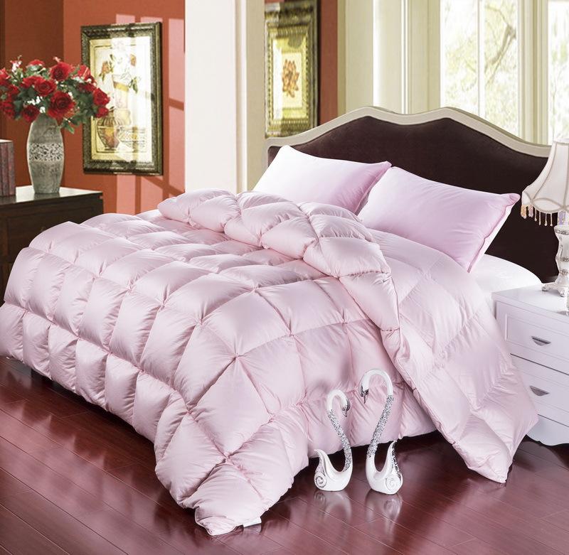 Grade A Natural 95 Goose Down Comforter Twin Queen King