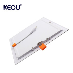new indoor lighting 3w square ultra thin led panel light