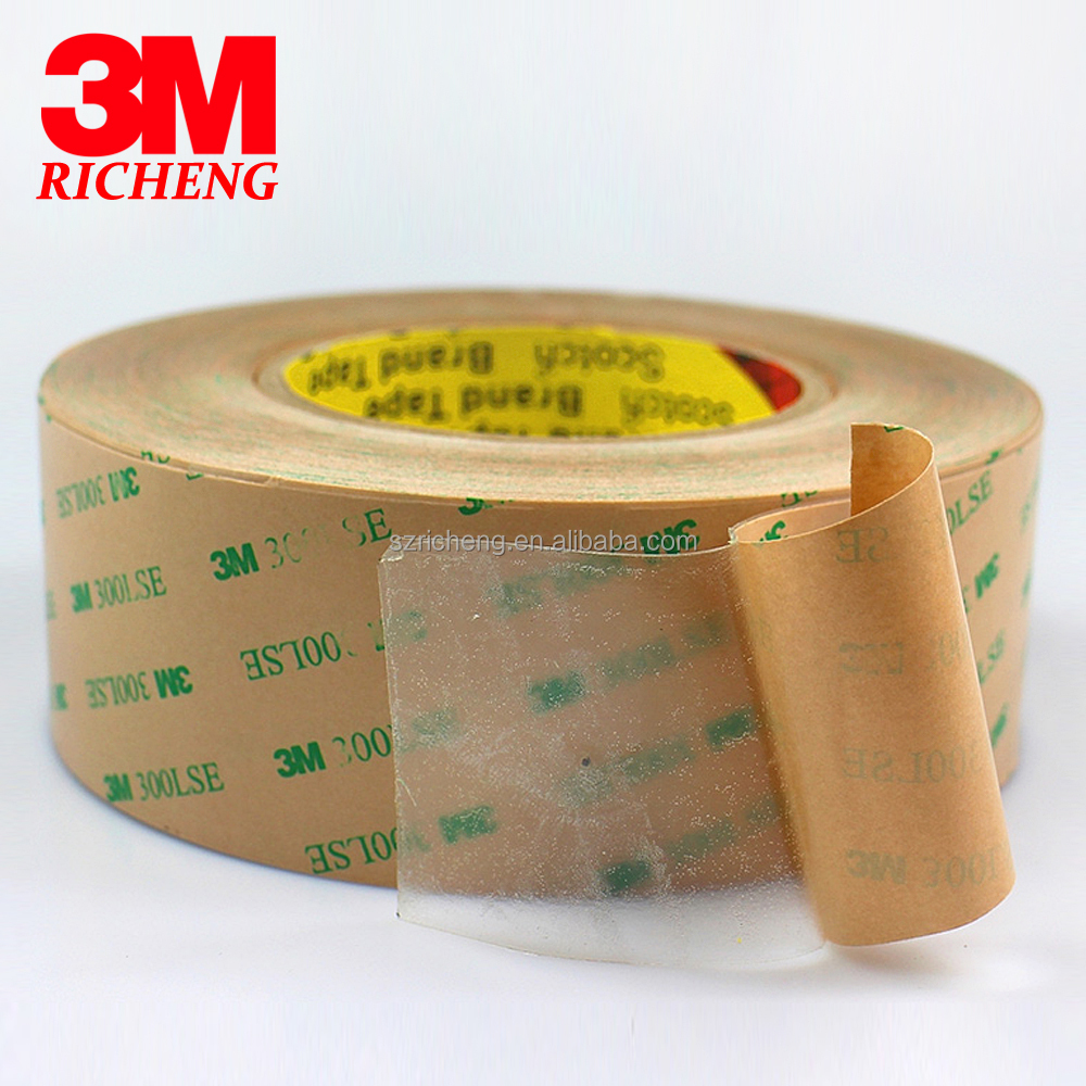 Free Sample clear 3M Double-sided Tape Coated With Acrylic Adhesive 300LSE 3M 9495LE