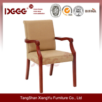DG-W0055 Indoor Antique Wooden arm Chair