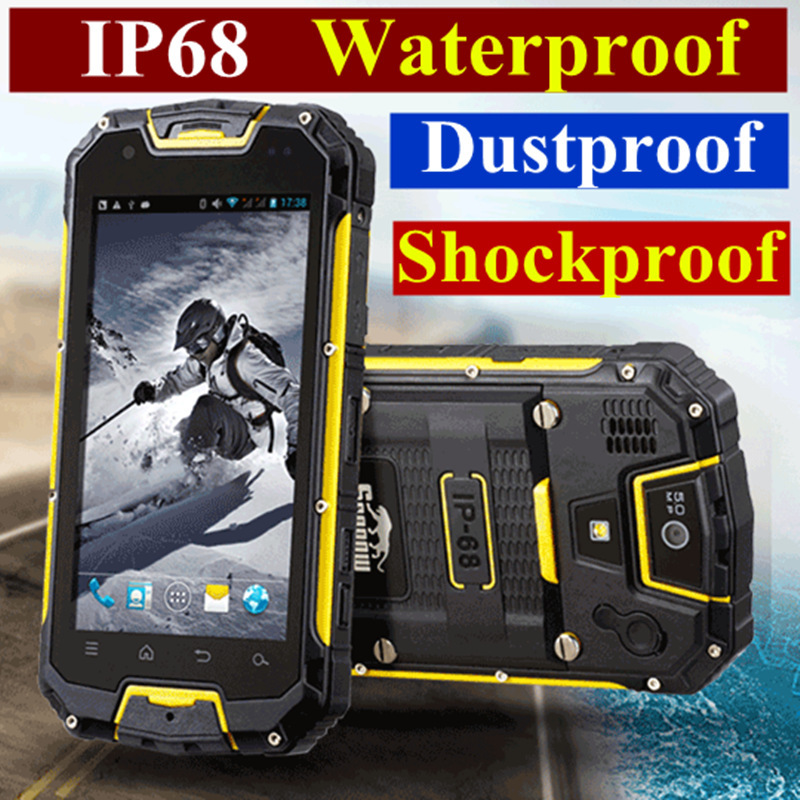 online store e21b9 4fdf5 original Snopow waterproof phone M8C M8 cell mobile phone android smart  ip68 rugged smartphone waterproof shockproof phone