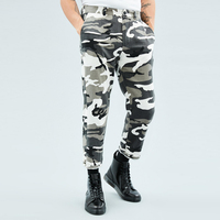 Best sale camouflage custom casual long men camo cargo pants trouser