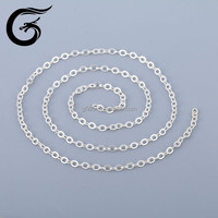 Charm necklace 925 silver snake wholesale sterling silver chains