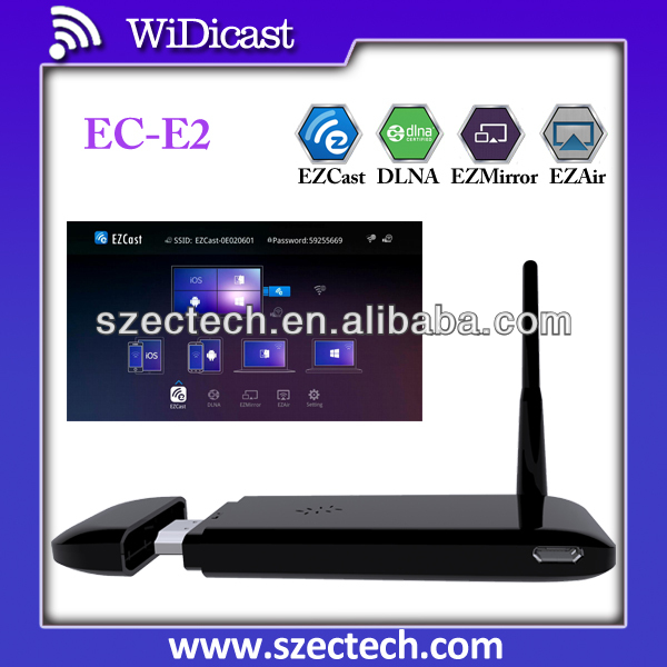 EZ Cast Ipush dongle miracast adapter Wireless Display wifi dongle