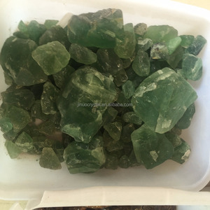 Price of Natural rock green fluorite crystal quartz rough stone pieces raw  crystal quartz