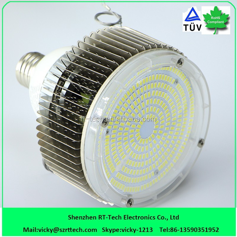 120W 150W 180W cob led high bay light e40 bulb ul tuv listed