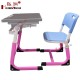 New Design Adjustable Play School Furniture Dubai Pink Desk and Chair