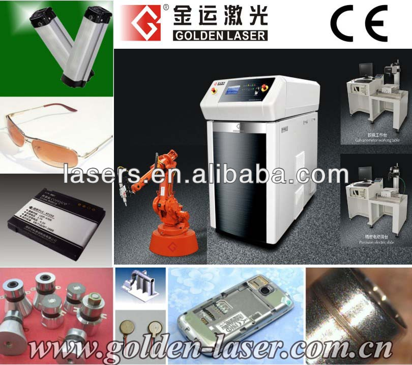 Jewelry Welding Laser Machine for Silver/Stainless Steel/Copper/Alloy