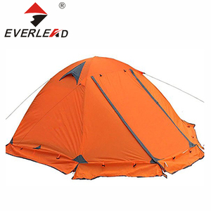 Hiking 2 Person Kid Play Pop Up Polyethylene Tarp / Fabric Plastic Sheet Inflatable Dome Tent