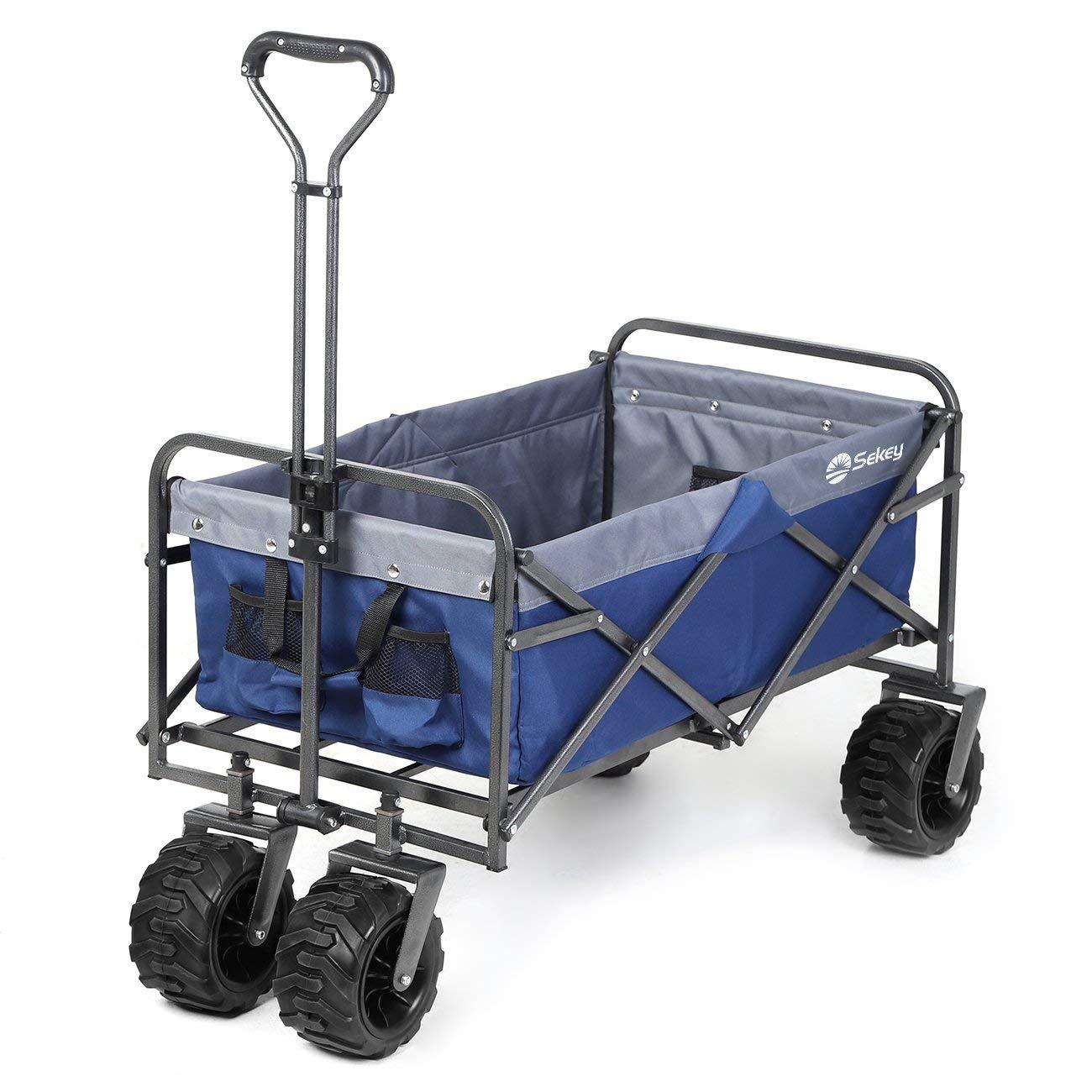 75f0e9bc22e4 Buy Beach Wagon Cart for Sand with Wheels All Terrain Haul Cooler ...