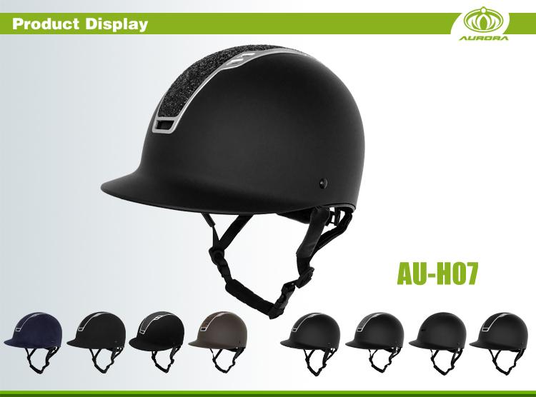 CE ASTM Certified Western Horseback Riding Helmets 5
