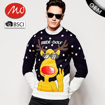 long sleve funny ugly christmas sweater wholesale with custom made - Hilarious Ugly Christmas Sweaters