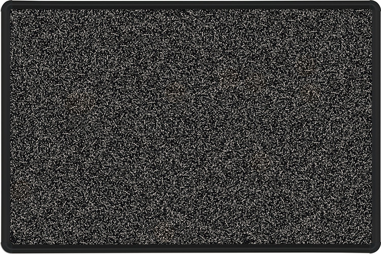 Best-Rite Presidential Trim Rubber-Tak Tackboard, Black Trim, 33 3/4 x 48 Inches, Black (321PC-T1-96)