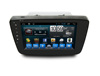 Factory Full touch 8'' Double Din Suzuki Baleno 2015 2016 car dvd player GPS Navigation system with MP3 BT Radio Music player