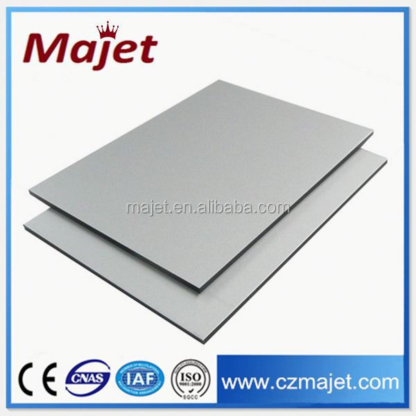 Color chart fireproof aluminum composite panel for wall nanotechnology products for building materials