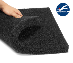 Supplier 10 PPI 30PPI Open Cell Reticulated Filter Foam Sponge Used in Ceramic Foam Faundry Filter