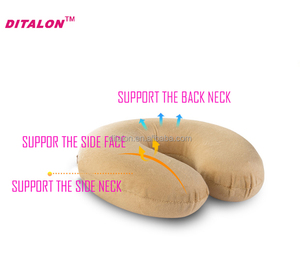 New memory foam neck pillow made of high quality thermo-sensitive memory foam