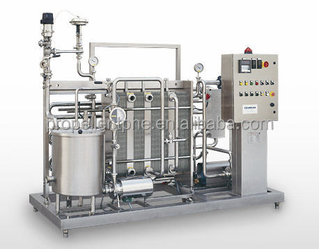 Good quality low price juice beer milk pasteurizer machine