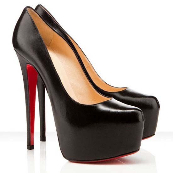 heels with red soles