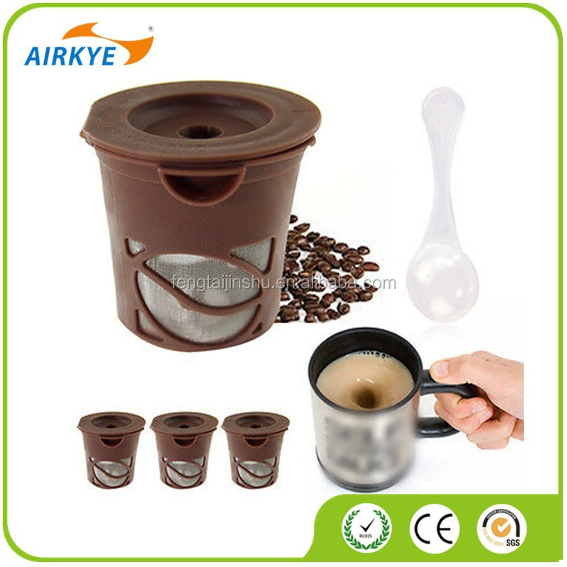 New Reusable Single Serve K-Cup Alternative Coffee Filter Pod As Seen As On TV