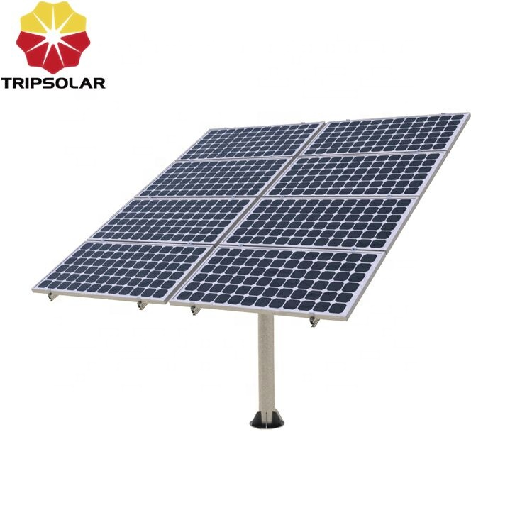 Q235 Steel Solar Panel Pole Mounting Structure