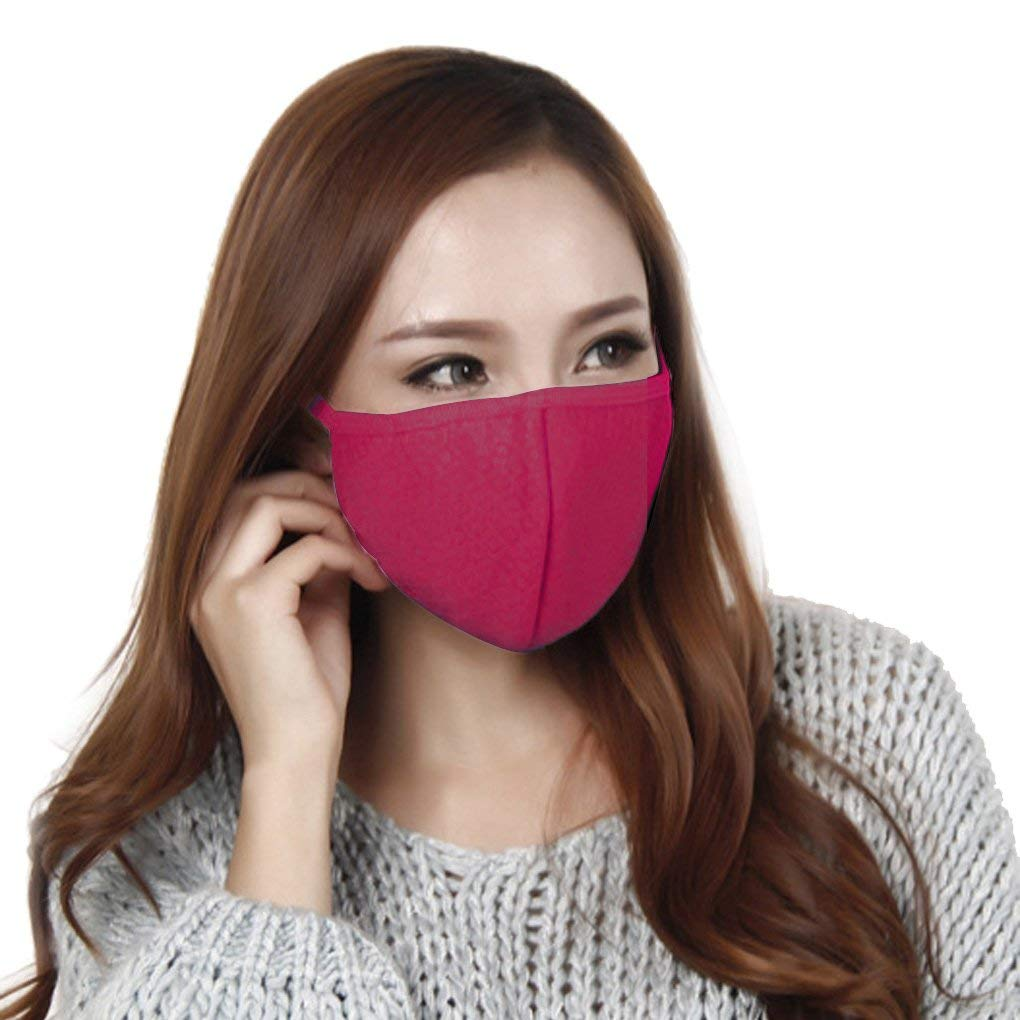 3dd29b2f98c Get Quotations · Mouth Mask Face Mask Cotton Anti-dust Mask PM2.5 Facemask  Biking Cycling Motorcycle