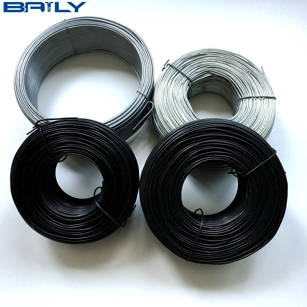 3.5 lb roll compact coils for belts reels NEW 2 Rolls of Tie Wire 16 Gage Black